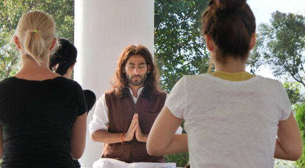 TTC rishikesh yoga vini meditation